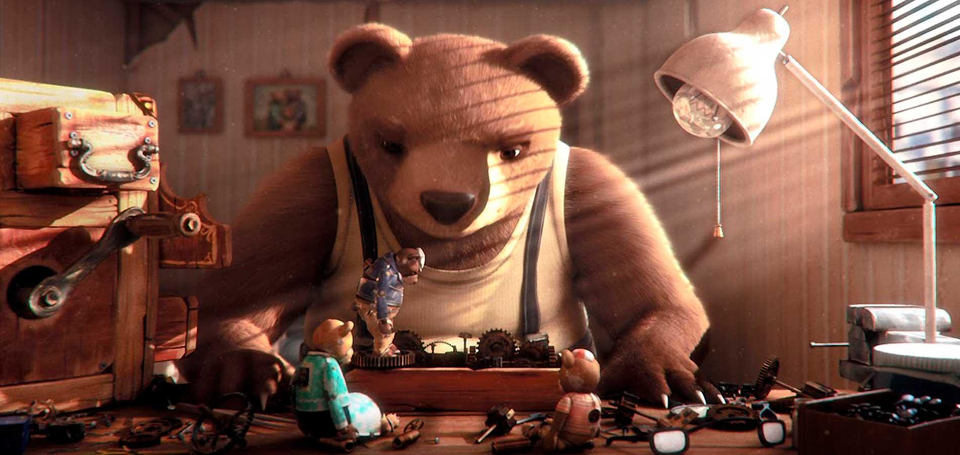 Un tierno oso que ha hecho historia - Cinema Saturno